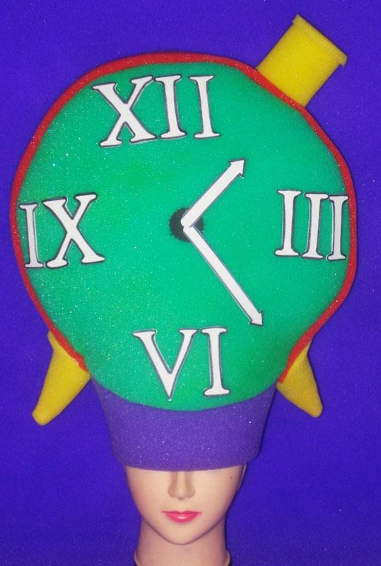 gorros de gomaespuma reloj