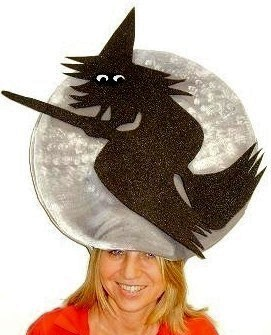 witch with moon
