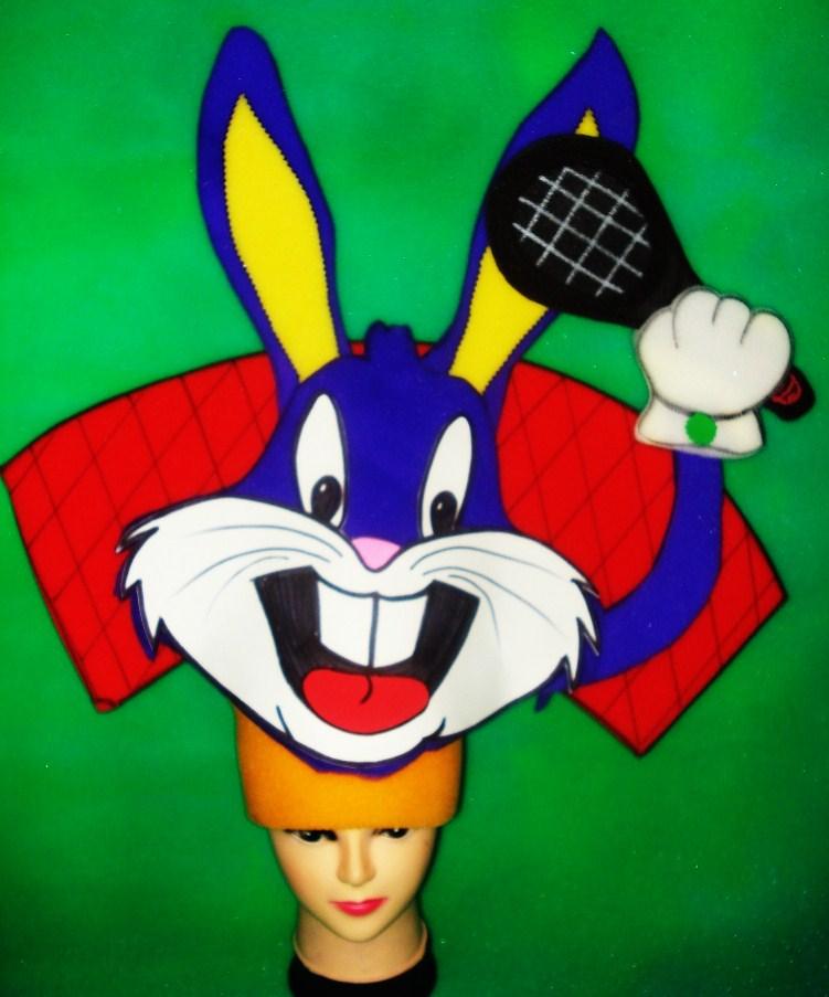 gorros de gomaespuma bugs bunny tenis