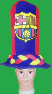 gorros de gomaespuma barcelona