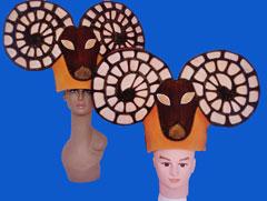 gorros de gomaespuma cabra africa
