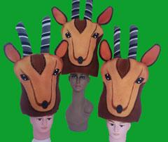gorros de gomaespuma ciervo africa