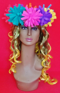 gorros de gomaespuma flowers crown