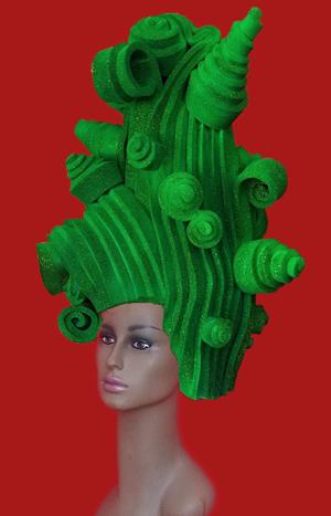 gorros de gomaespuma elfo