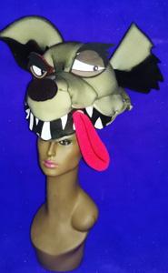 gorros de gomaespuma hiena 1 3D