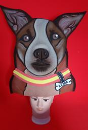 gorros de gomaespuma mascota