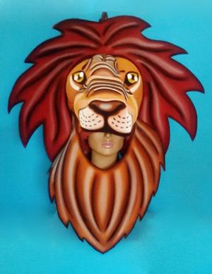 gorros de gomaespuma leon