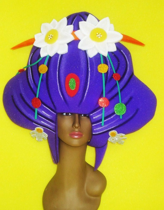 gorros de gomaespuma geisha