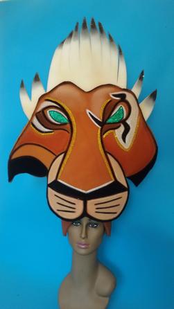 gorros de gomaespuma el rey leon musical scar