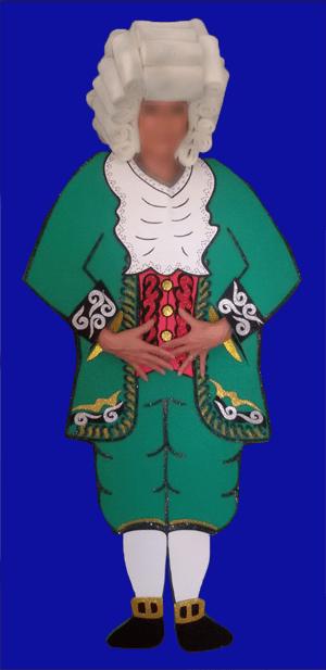 disfraz de siglo 17 hombre