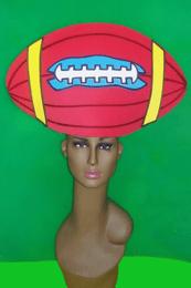 gorros de gomaespuma pelota futbol americano