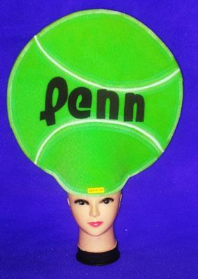 gorros de gomaespuma pelota tenis