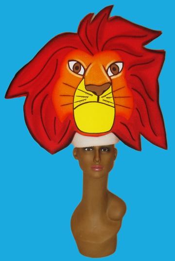 gorros de gomaespuma el rey leon disney sima adulto