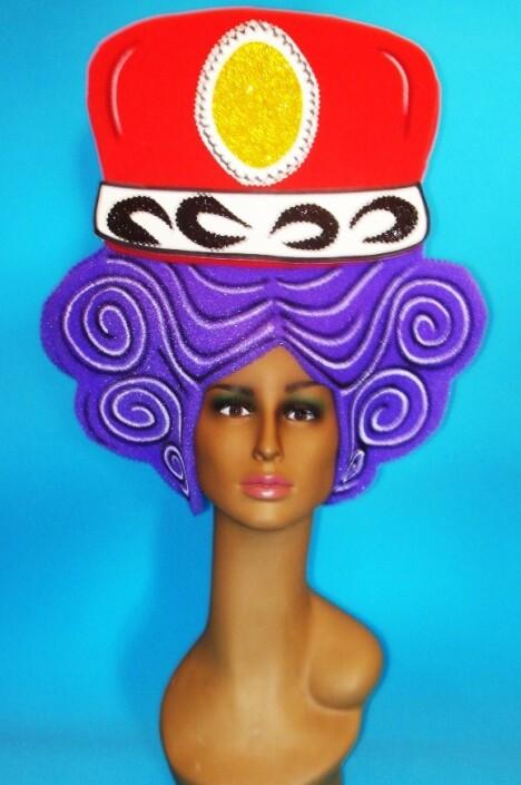 gorros de gomaespuma queen