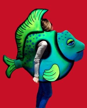 disfraz de peces