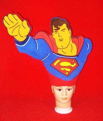 gorros de gomaespuma superman