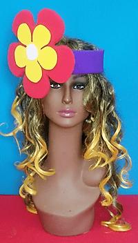 gorros de gomaespuma cinta flor