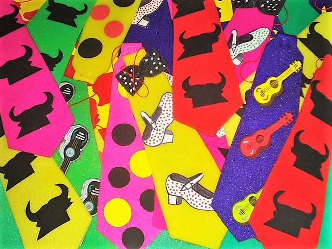 Corbatas flamencas