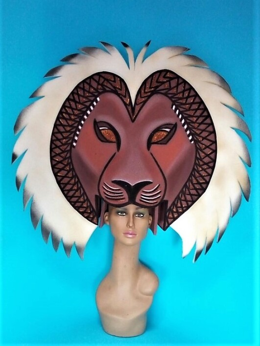 gorros de gomaespuma el rey leon musical simba