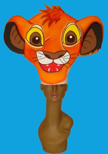 gorros de gomaespuma el rey leon disney simba niño