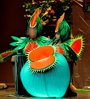 disfraz de planta carnivora 2