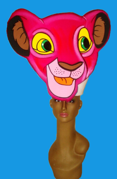 gorros de gomaespuma el rey leon disney nala niña