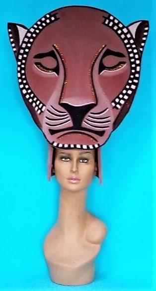 gorros de gomaespuma el rey leon musical sarabi