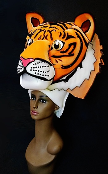 gorros de gomaespuma el rey leon musical tigre