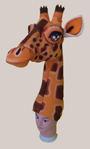 gorros de gomaespuma el rey leon disney jirafa