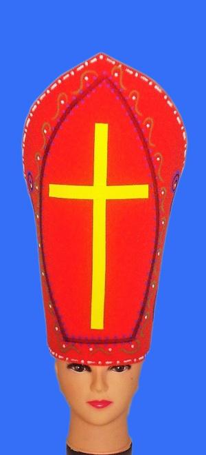 gorros de gomaespuma tocado papal