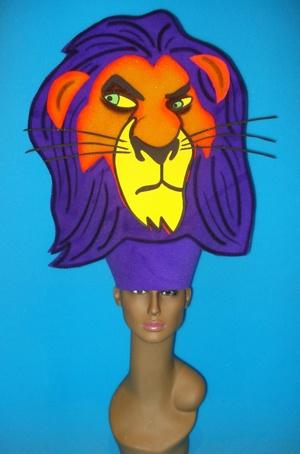 gorros de gomaespuma el rey leon disney scar