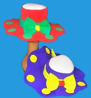 gorros de gomaespuma pamelas