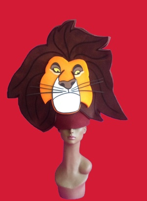 gorros de gomaespuma el rey leon disney mufasa