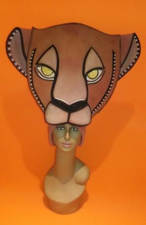 gorros de gomaespuma nala de el rey leon musical